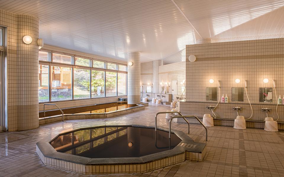 Indoor baths for men and women